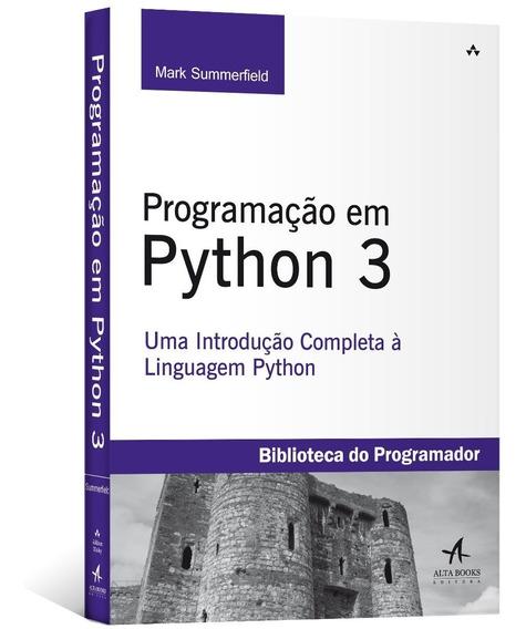 Programação Em Python 3 - Introdução Completa A Linguagem