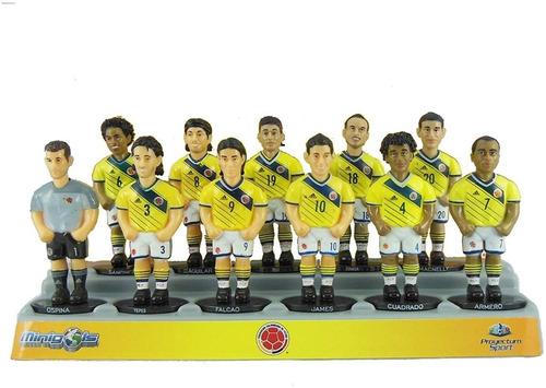 Figuras de equipo para futbol/ín Minigols