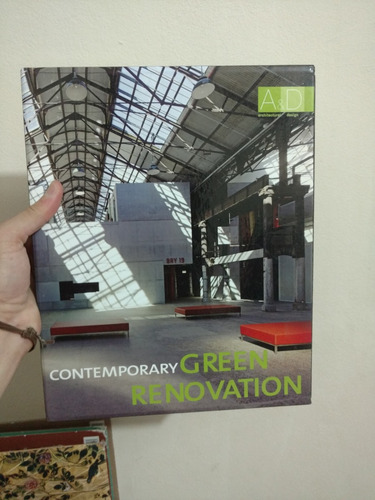 Livro Contemporary Green Renovation