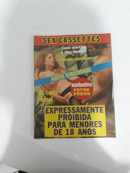 Revista Sex Cassettes Raro Antiga Para Colecionadores!!!