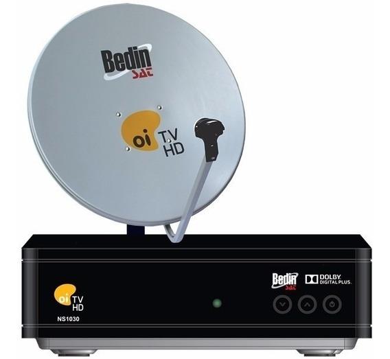 Kit Oi Tv Livre Lnb Duplo Antena De 60 Cm