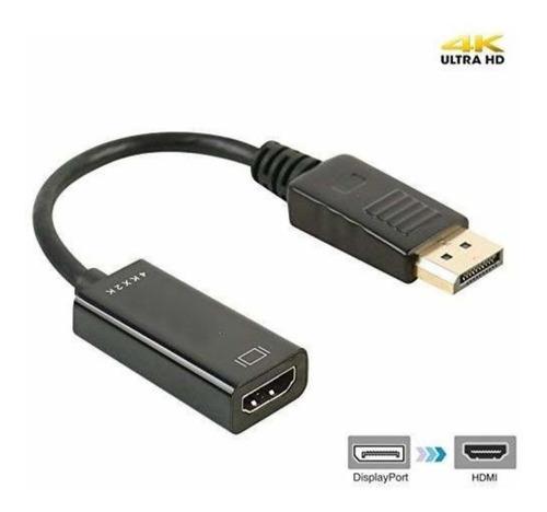 Cable Convertidor Adaptador Display Port A Hdmi 4k