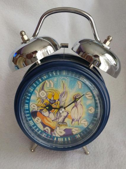 Reloj Despertador Caballeros Del Zodiaco Cisne Vintage