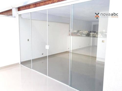 Imagem 1 de 18 de Cobertura Com 2 Dormitórios À Venda, 48 M² Por R$ 380.000,00 - Parque Novo Oratório - Santo André/sp - Co1063