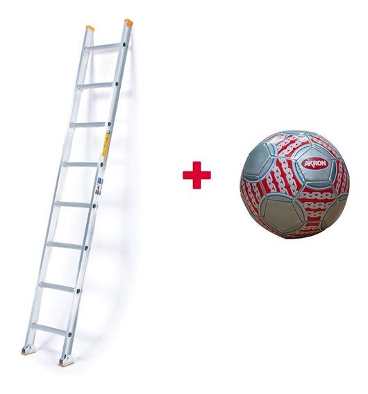 Escalera Recta Aluminio Akron 10 Escaleras 81-98