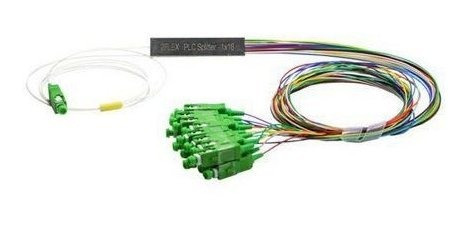 Splitter Conectorizado Balanceado 1x16 Sc/apc (verde)