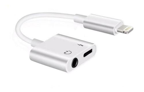 Conector Dual Audio + Carga iPhone Wuw-x89 Bluetooth
