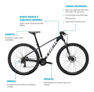 Bicicleta Mtb Trek Marlin 5 Rod 29 2020 Talle Xl 21,5