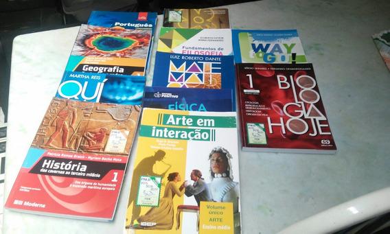 Livros Ensino Médio Primeiro Grau