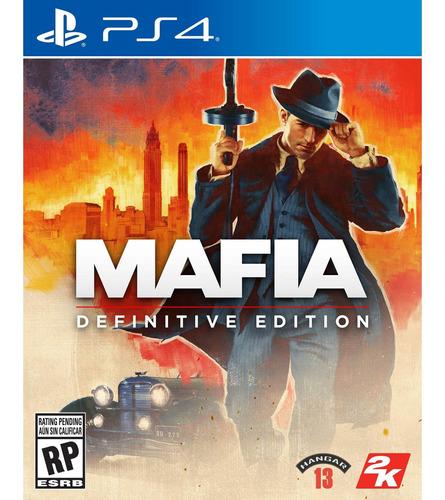 Imagen 1 de 10 de Mafia: Definitive Edition Formato Fisico Ps4 Original