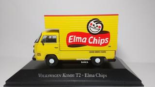 Miniatura Kombi Elma Chips Veículos De Serviços De Agostini