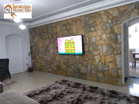 Casa Com 4 Dormitórios À Venda Por R$ 636.000,00 - Parque Renato Maia - Guarulhos/sp - Ca0317
