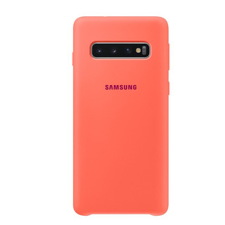 Funda Samsung Silicone Cover - Protective - S10 - Pink