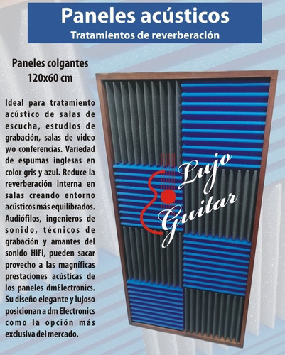 Panel Acustico Espuma Esponja Acustica I