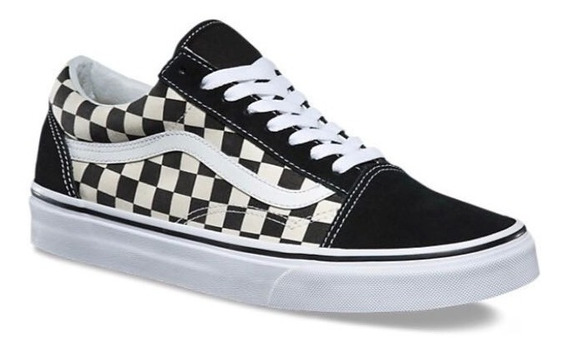 Tenis Vans Old Skool Checkerboard Black/white