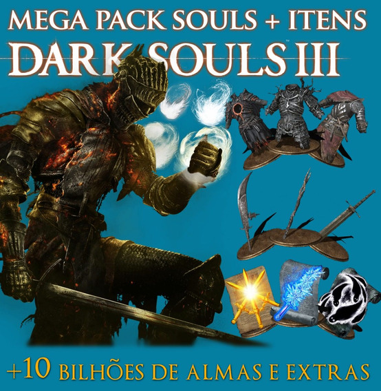 Todos Os Itens + 10 Bilhões De Almas Dark Souls 3 Pc Steam