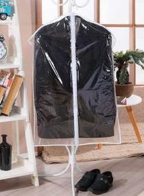 70 Capa Plástica Protetora Para Roupa Antimofo Com Ziper