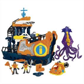Navio Comando Do Mar Imaginext - Dfx93 Mattel