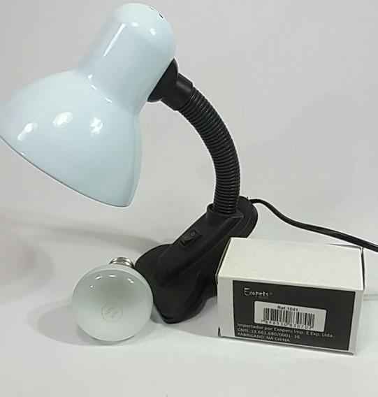 Lâmpada Exopets Réptil De Aquecimento E Uv 40w 127v Com Luminária