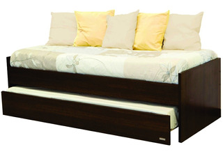 Divan Cama Platinum 957 - 2 Camas 1 Plaza 80x190 Colores