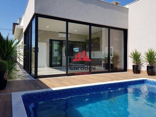 Imagem 1 de 17 de Casa Com 3 Dormitórios À Venda, 260 M² Por R$ 1.800.000 - Loteamento Residencial Jardim Villagio Ii - Americana/sp - Ca2440