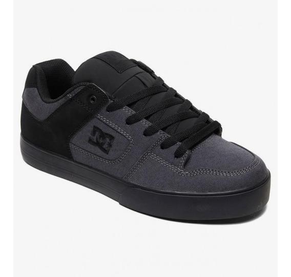 Zapatillas Dc Shoes Pure Tx Se Negro Suela Negro