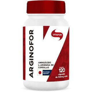 Arginina Arginofor 120 Cápsulas Da Vitafor