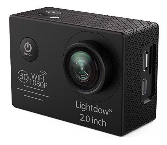 Lightdow Ld6000 Wifi 1080p Hd Sports Action Camera *gopro*