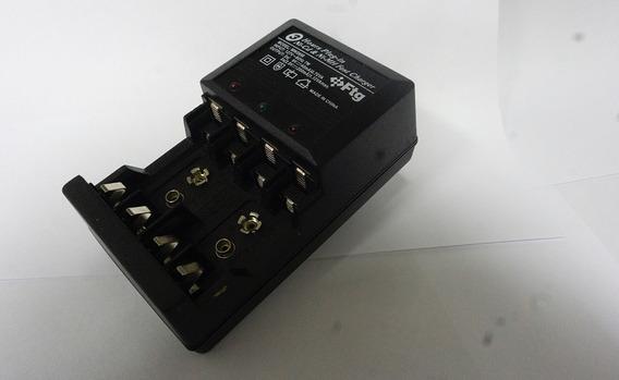 Carregador De Baterias Aa/aaa/9v Mw 2898 - 220 V