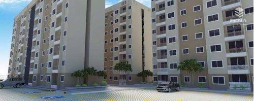 Imagem 1 de 30 de Apartamento À Venda, 48 M² Por R$ 196.088,00 - Parque Tabapua - Caucaia/ce - Ap0968