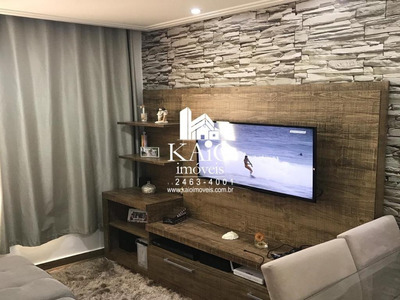 Apartamento Com 2 Dormitórios À Venda Por R$ 255.000 - Ponte Grande - Guarulhos/sp - Ap1133