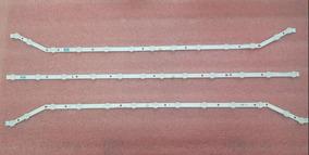Kit Completo C/ 3 Barras Led Samsung Un40h5100ag Un40h5103