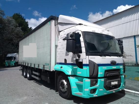 Ford Cargo 2429 Leito 6x2 2015 Com Baú Sider