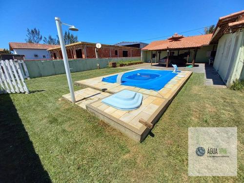 Imagem 1 de 13 de Rgi - Casa 03 Quartos - 320 Mil - Cond. Santa Margarida / Unamar - Ca0096