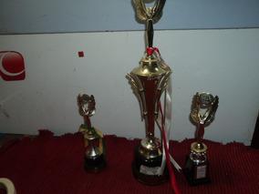 Trofeu Pvc Antigo Campeonato / Usado