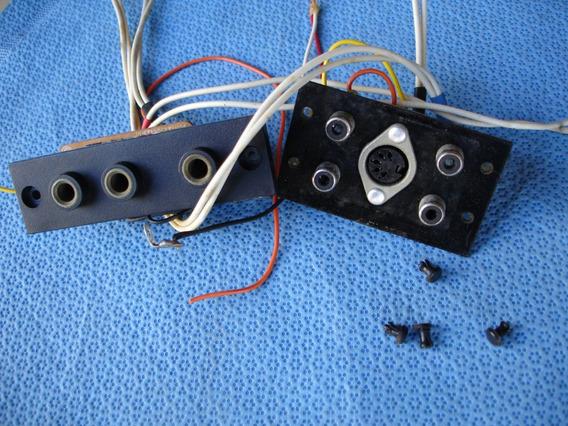 Peças - Tape Deck Cd-3500 - Placas Entradas/saídas De Áudio