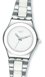 Reloj Swatch Yls141gc Tresor Noir Blanc Suizo Envio Gratis Watch Fan Locales Palermo Saavedra
