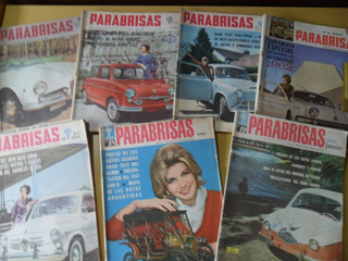 Antiguo Lote 7 Revista Parabrisas 1962 No Automundo Corsa