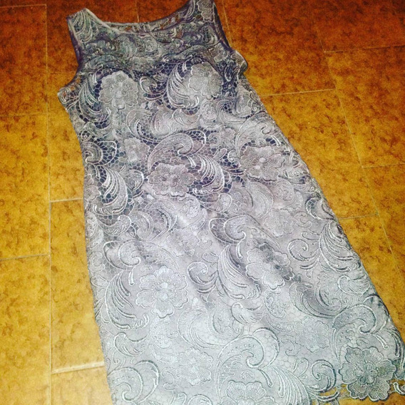 Vestido Corto Dama De Encaje, Importado Talla 8