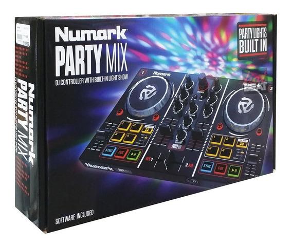 Numark Party Mix Controladora De Dj Midi Com Luzes De Led *