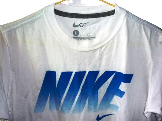 Franela Nike Original De Dama Talla L De Algodón