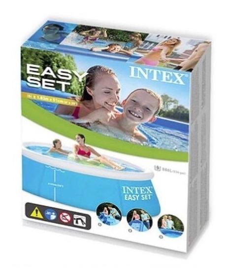 Piscina Familiar Inflable Intex Easy Set 183 X 51cm