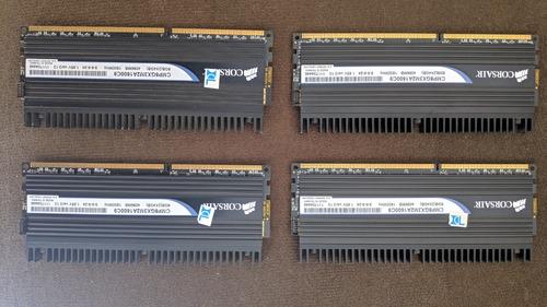 Imagem 1 de 8 de Memoria Corsair Dominator Ddr3 1600mhz 4x4 16gb