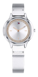Tommy Hilfiger - Reloj 1781909 Silver Stainless Steel Para M