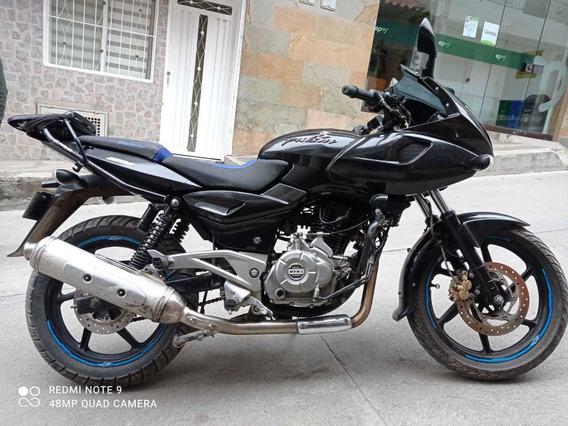 Moto Pulsar Bajaj 220 Año 2012 Negra -moto-barata-rionegro