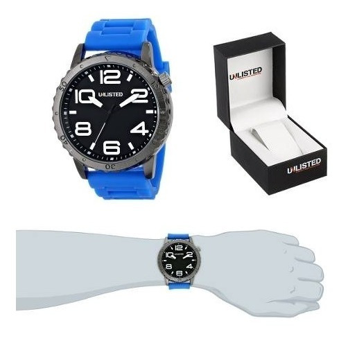 Reloj Unlisted Kenneth Cole Para Caballero ¡envio Gratis!