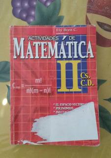 Libro Matemática De Ely Brett (dist. Escolar) (5to Año)