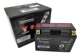 Bateria Yuasa Yt9b-bs Xt660 X R Z R6 Mt03 660 Tenere 660