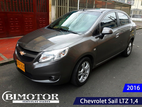 Chevrolet Sail Ltz Mecánico 2016 Full Equipo