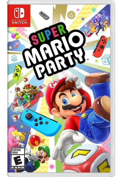 Super Mario Party Switch Mídia Física Novo Original Lacrado